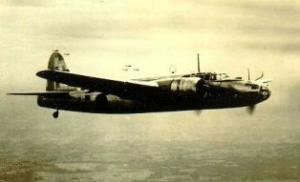 日本陸軍の呑龍です。爆撃機だそうです。